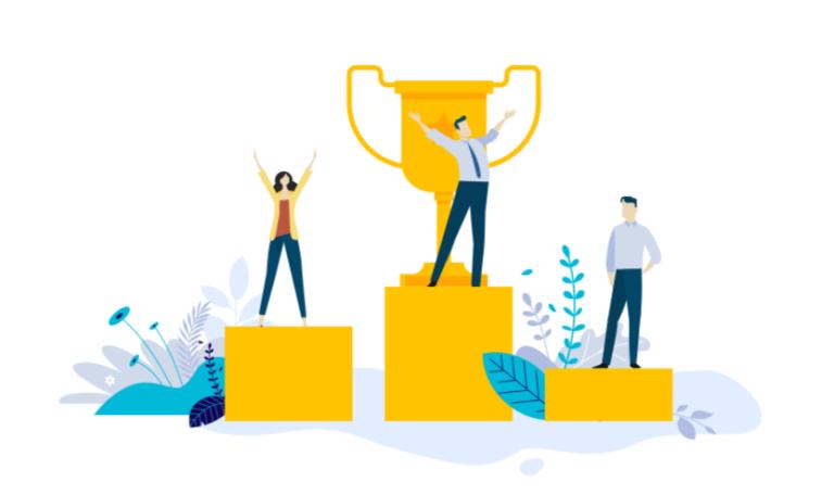 Vijf manieren om je concurrentie een stap voor te blijven - daar-om.nl