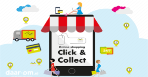 click and collect webshop