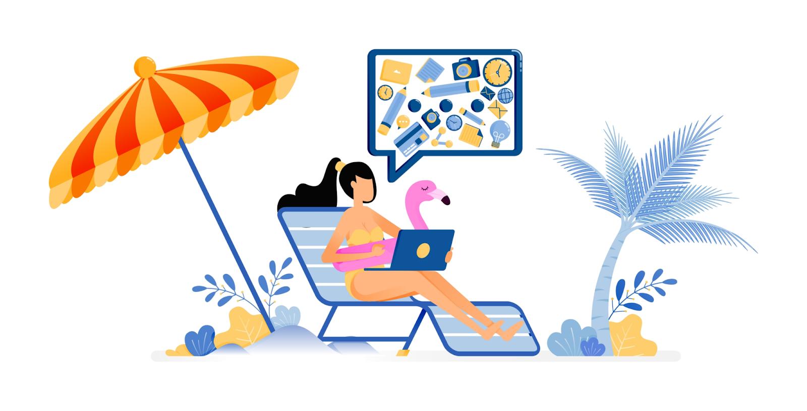 online marketingtips zomervakantie